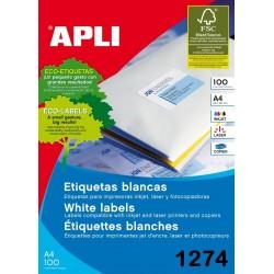 ETIQUETA APLI A4 105X37