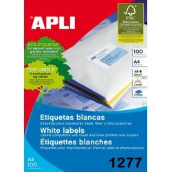 ETIQUETA APLI A4 105X42,4
