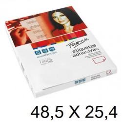 ETIQUETA FABRISA A4 48,5x 25,4 C/100