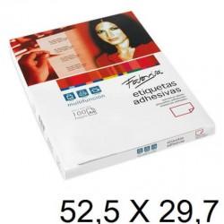 ETIQUETA FABRISA A4 52,5x29,7 C/100H