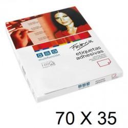 ETIQUETA FABRISA A4 70x35 C/100