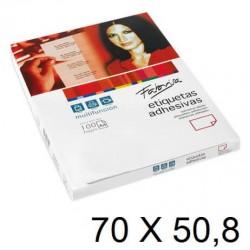 ETIQUETA FABRISA A4 70X50,8 C/100