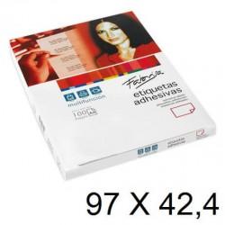 ETIQUETA FABRISA A4 97x42,4 C/100