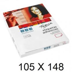 ETIQUETA FABRISA A4 105x148 C/100