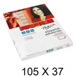 ETIQUETA FABRISA A4 105X37 C/100
