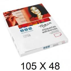 ETIQUETA FABRISA A4 105X48 C/100