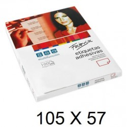 ETIQUETA FABRISA A4 105x57 C/100