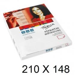 ETIQUETA FABRISA A4 210x148 C/100