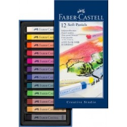 PASTEL BARRA FABER CASTELL 12 COLORES