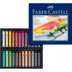 PASTEL BARRA FABER CASTELL 24 COLORES