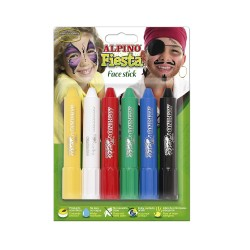 MAQUILLAJE ALPINO FACE STICK 6 COLORES