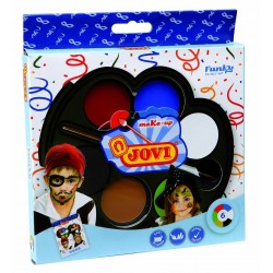 MAQUILLAJE JOVI FUNKY 6 COLORES