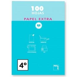 PAPEL A5 (CUARTO) PACSA 80GR LISO 100H