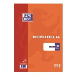 PAPEL A4 90GR LISO OXFORD 100H