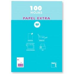 PAPEL A4 PACSA 90GR 100 H LISO P/5