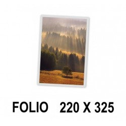 FUNDA PLASTIFICAR PLUS FOLIO 125MICRAS