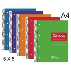 BLOC A4 CAMPUS 160H T/DURA 5X5 P/5