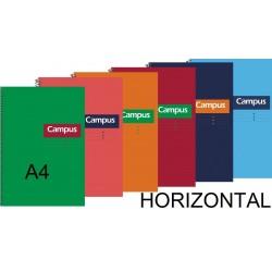 BLOC A4 CAMPUS 80H T/DURA HORIZONTAL P/6