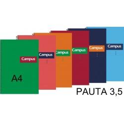 BLOC A4 CAMPUS 80H T/DURA PAUTA 3,5 P/6