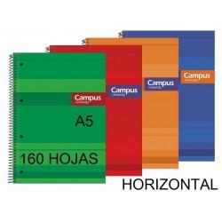 BLOC A5 CAMPUS 160H T/FORRADA HORIZONTAL P/5