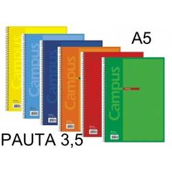 BLOC A5 CAMPUS 80H T/BASICA PAUTA 3,5 P/5