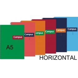 BLOC A5 CAMPUS 80H T/DURA HORIZONTAL P/5