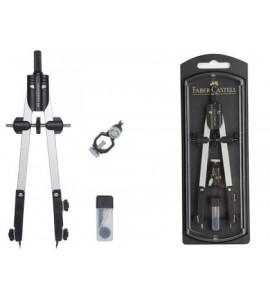 Bigotera Faber Castell de ajuste rápido con adaptador