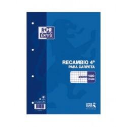 RECAMBIO A5 OXFORD 100H 4X4 90GR