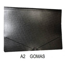 CARPETA CARTON A2 GOMAS BRILLO