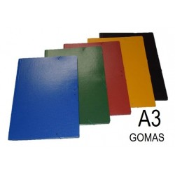CARPETA CARTON A3 GOMAS BRILLO
