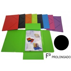 CARPETA FOLIO PROLONGADO SOLAPA PVC