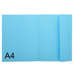 SUBCARPETA A4 1 SOLAPA AZUL P/50