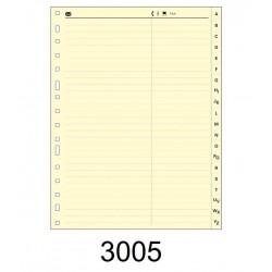 INDICE CARTULINA MULTIFIM 3005