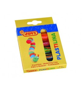 Plastilina Jovi blister 6 colores