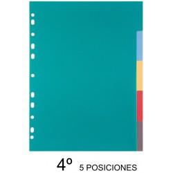 SEPARADORES A5 5 POSICIONES