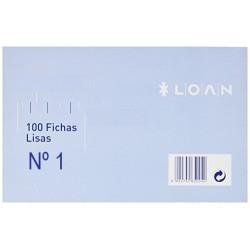 FICHAS LISAS LOAN 65X95 Nº1