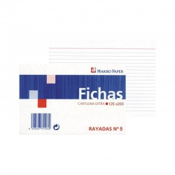 FICHAS RAYADAS MAKRO PAPER 160X220 Nº5