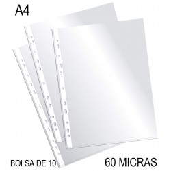FUNDA MULTITALADRO PlUS OFFICE A4 60M/25B-10