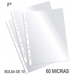 FUNDA MULTITALADRO PlUS OFFICE FOLIO 60M/25B-10