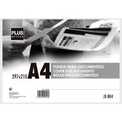 FUNDA DOCUMENTOS MAKRO RIGIDA A-4
