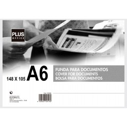 FUNDA DOCUMENTOS MAKRO RIGIDA A-6