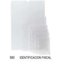 PORTACARNET IDENTIFICACION FISCAL P/25