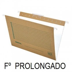 CARPETA COLGANTE FOLIO PROLONGADO C/25