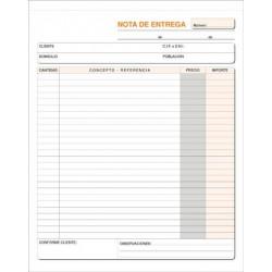 TALONARIO ENTREGA 21,5x26,5 CM DUPLICADO T-127/93D P/10
