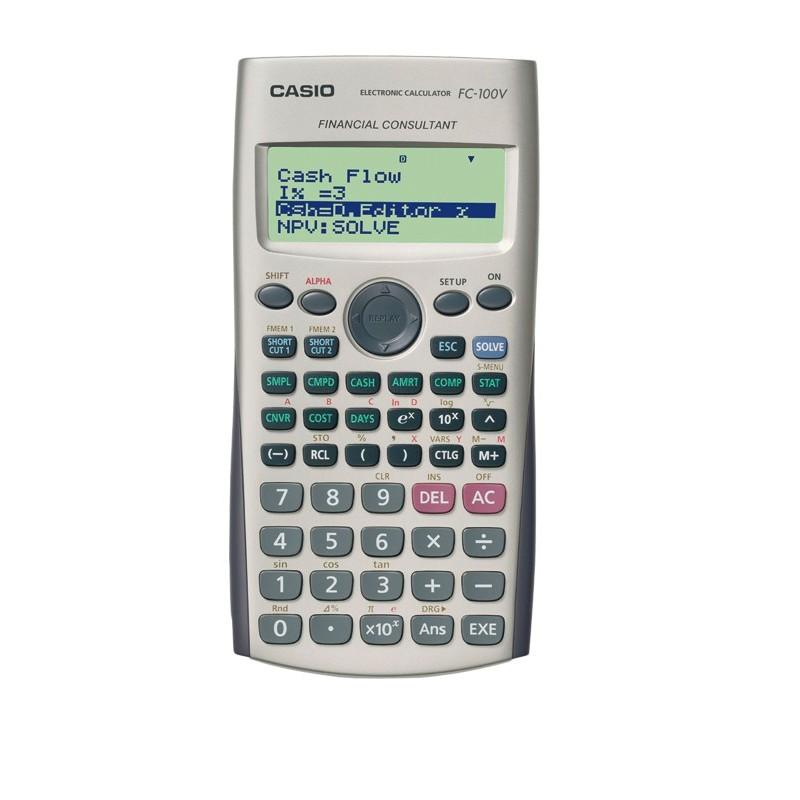 Calculadora Financiera Casio FC-100V