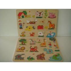 ENCAJABLE ANIMALES 40X30
