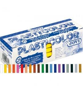 Plasticolor 25 ceras Unicolor