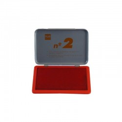 Tampón Plus Office Nº2 Rojo 8x12cm