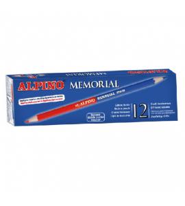 LAPIZ Alpino MEMORIAL BICOLOR ROJO/AZUL