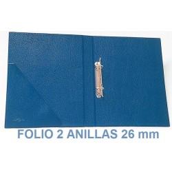 CARPETA PLÁSTICO SARO FOLIO 2 ANILLAS